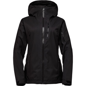 Black Diamond Boundary Line Mapped Isolierende Jacke Damen black